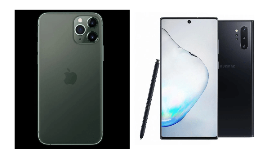iPhone 11 Pro vs Galaxy Note 10