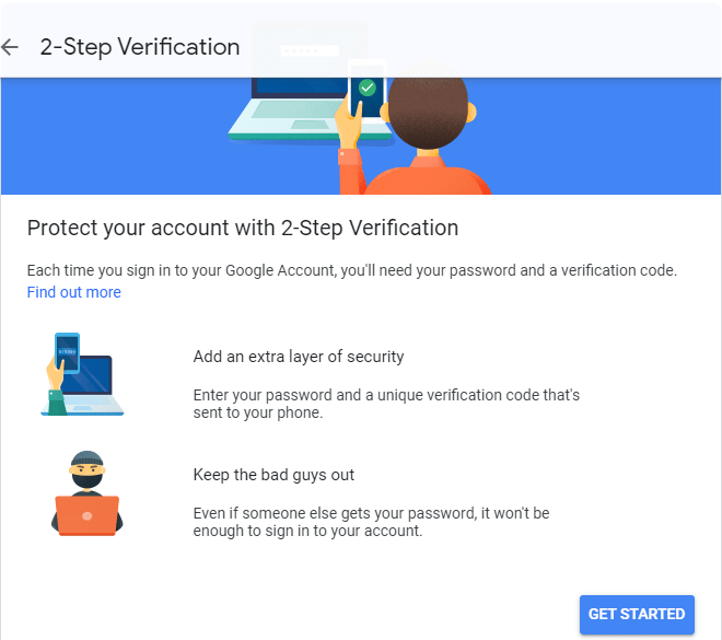 Google 2-Step Verification