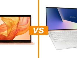 MacBook Air vs Zenbook 14