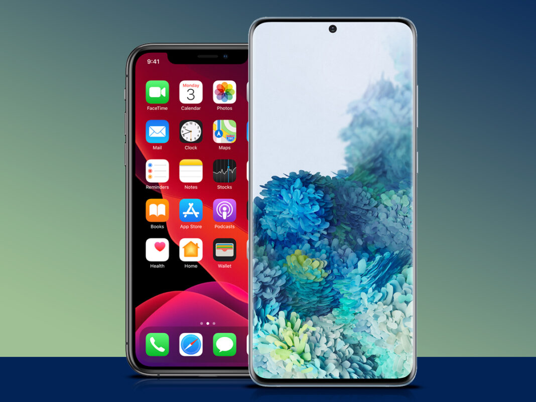 iPhone 11 Pro vs Galaxy S20 plus