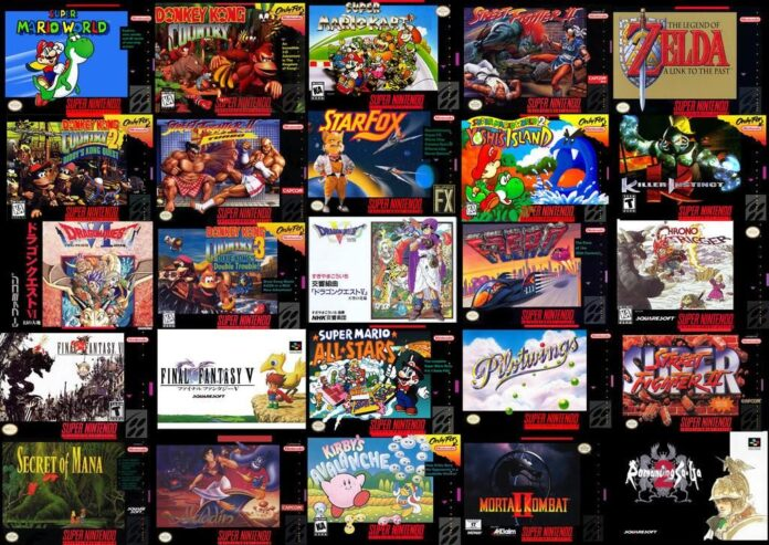 10 Best Selling Super Nintendo's games of All Time