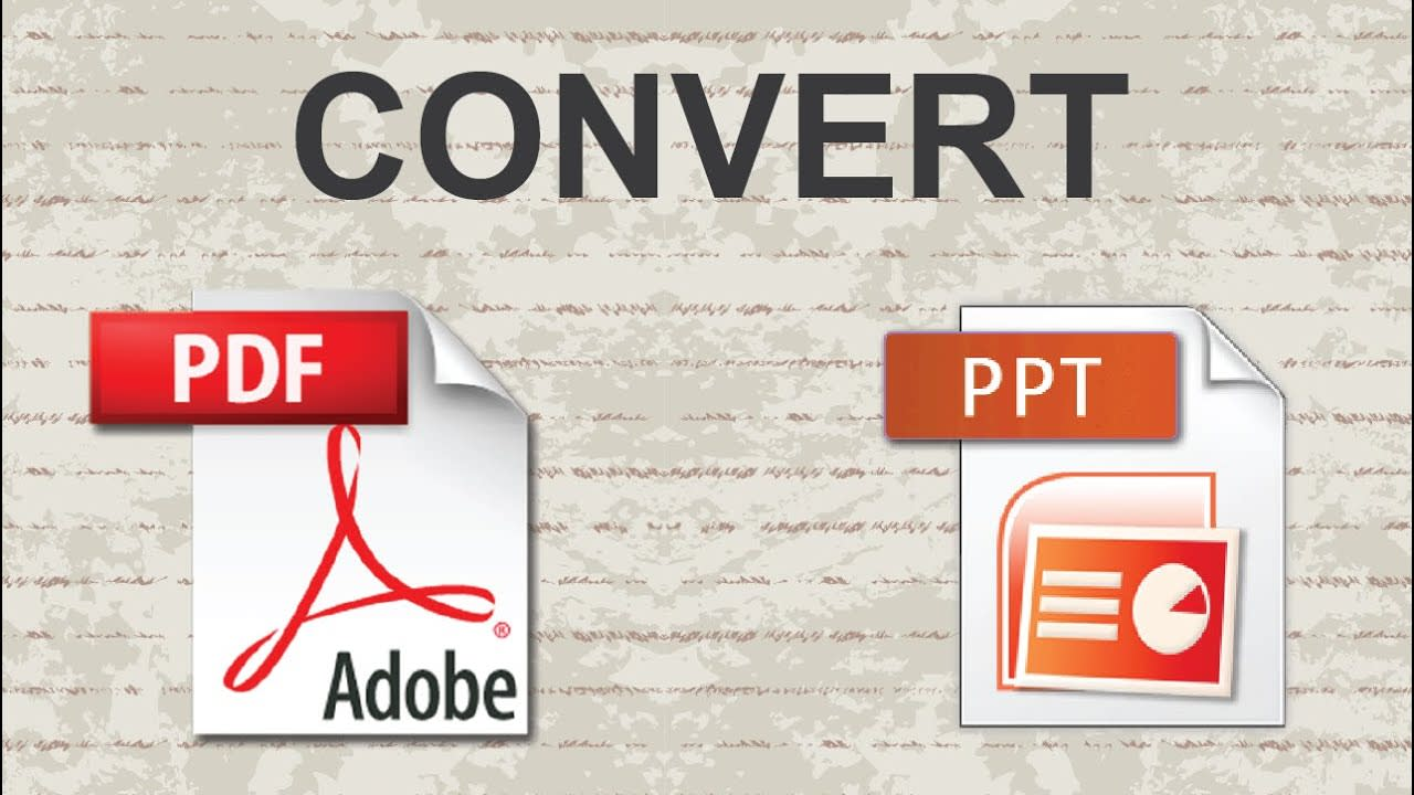 convert pdf to editable powerpoint free online