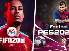 Advantages of FIFA 20 over PES 2020