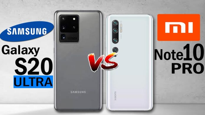 Galaxy S20 Ultra vs Xiaomi Mi 10 Pro