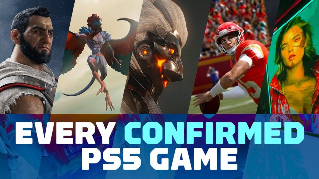 Cconfirmed PS5 Games