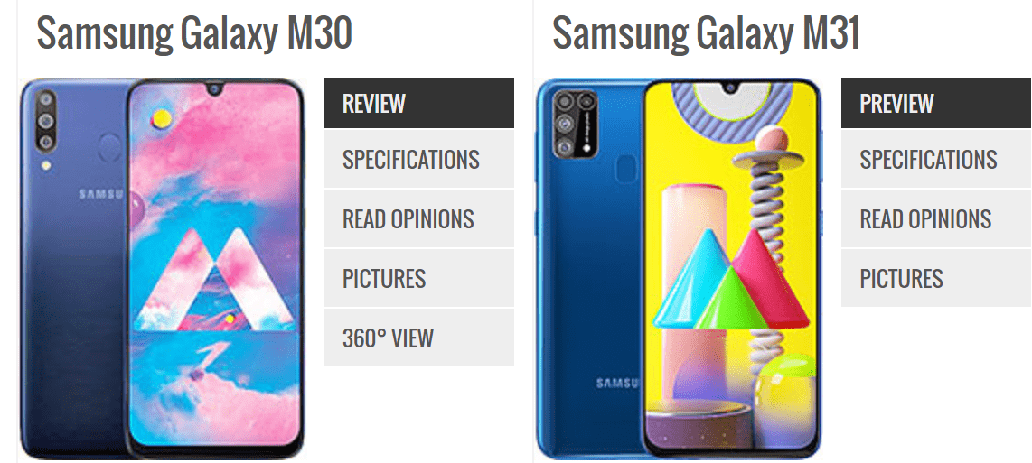 Galaxy A30 Vs Galaxy A31 Know What Changes Between The Phones Techidence