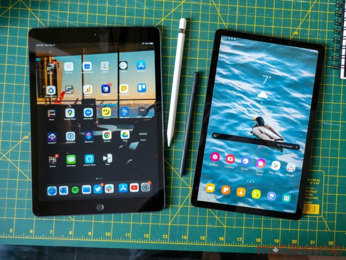 Galaxy Tab S6 Lite vs iPad Air 2019