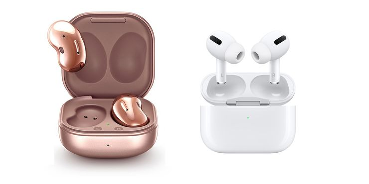 Samsung Galaxy Buds Live vs Apple AirPods Pro