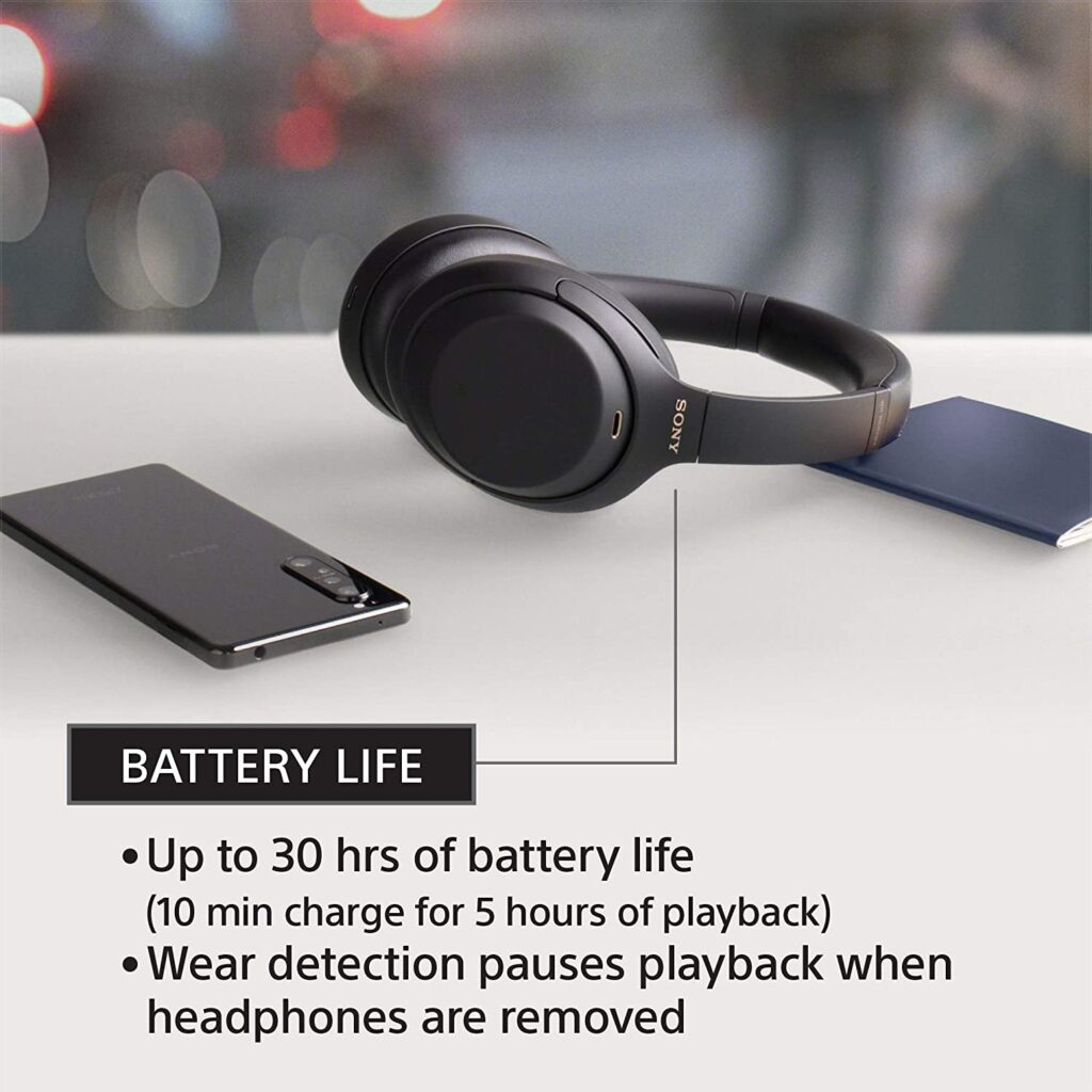 Sony WH-1000XM4 battery
