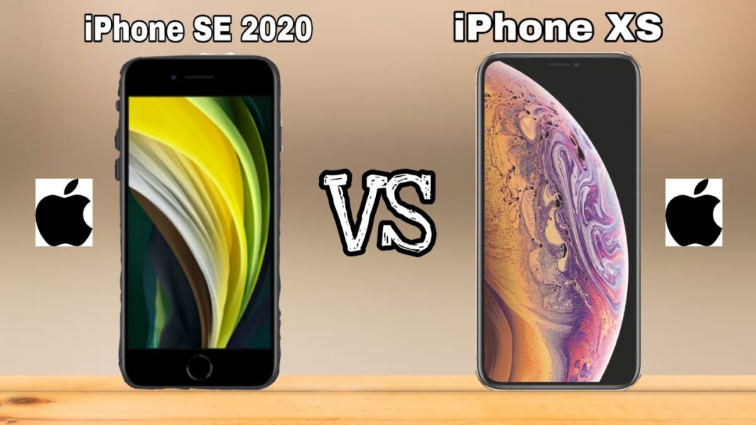 iPhone SE (2020) and iPhone XS