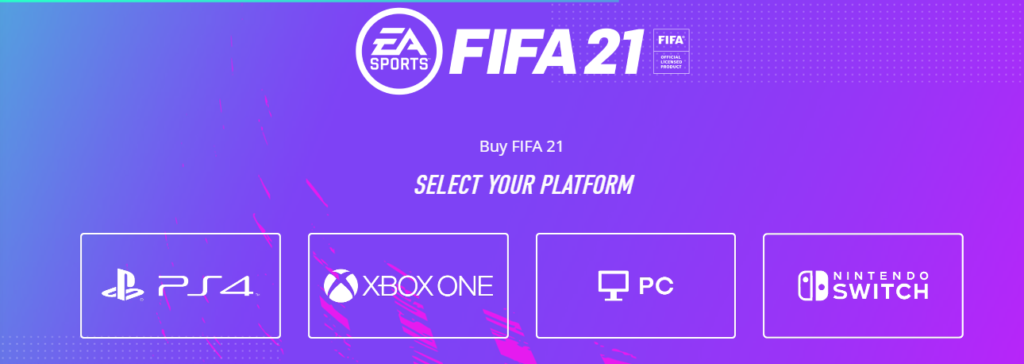 Fifa 21 Page