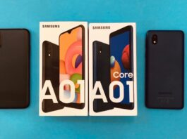 Galaxy A01 vs Galaxy A01 Core