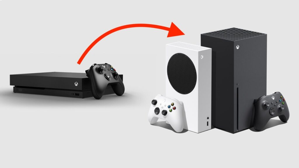 Move your data and games from Xbox One to X Series