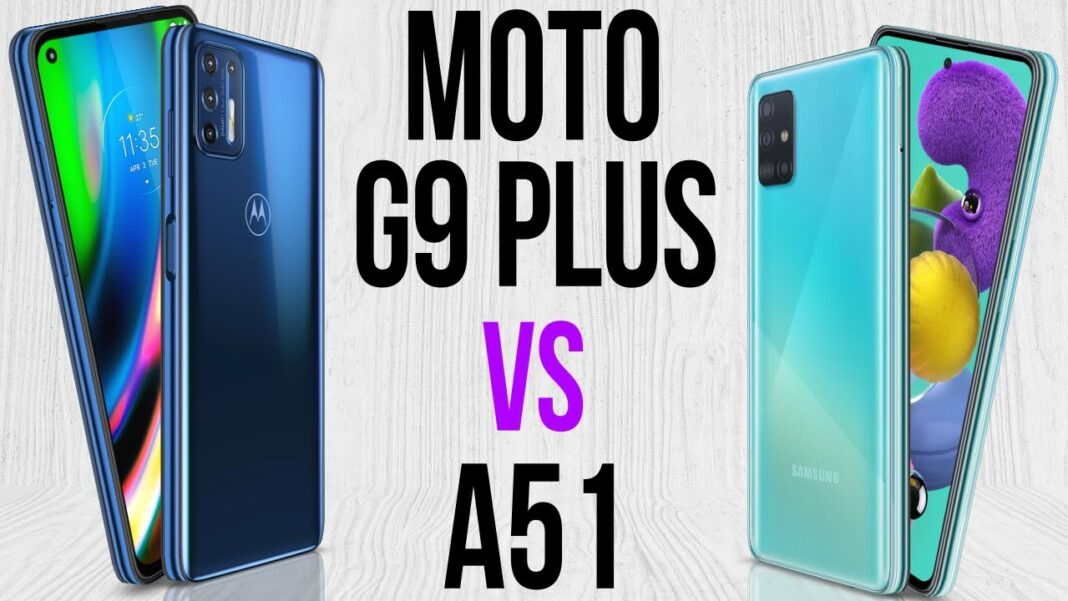 Galaxy A51 vs Moto G9 Plus