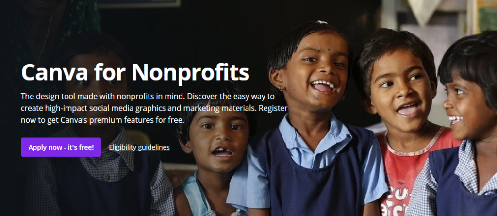 Canva for Nonprofits