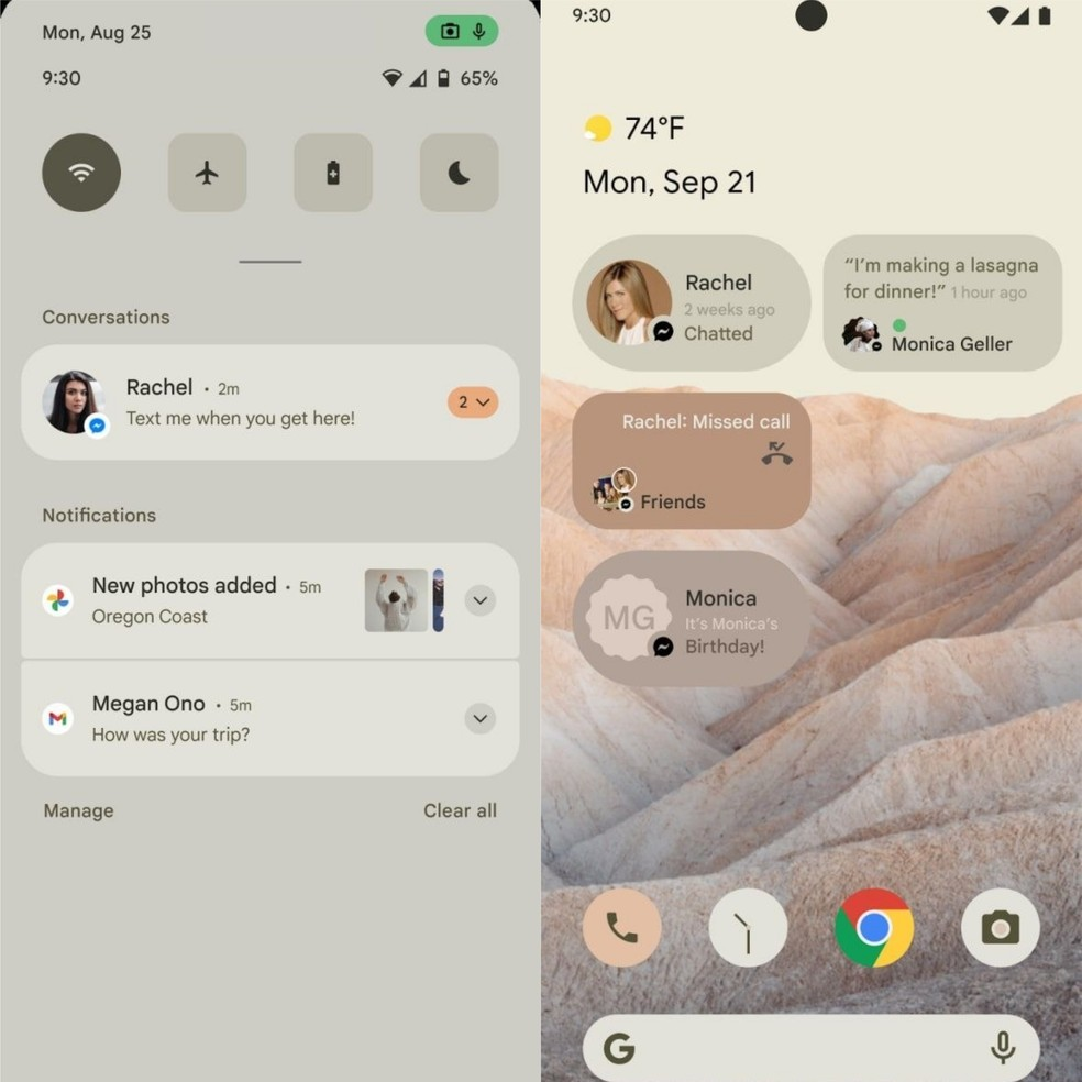 Android 12 New Interface