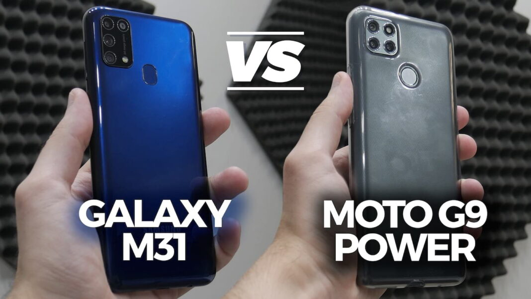 Moto G9 Power vs Galaxy M31