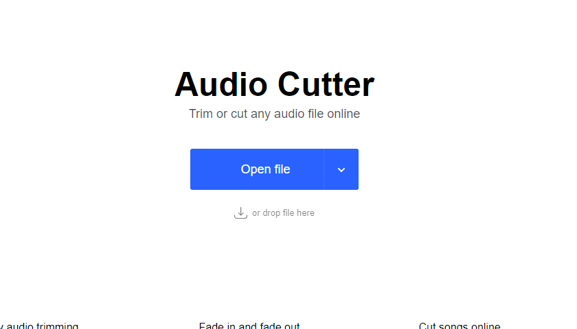 Online MP3 Cutter by 123Apps