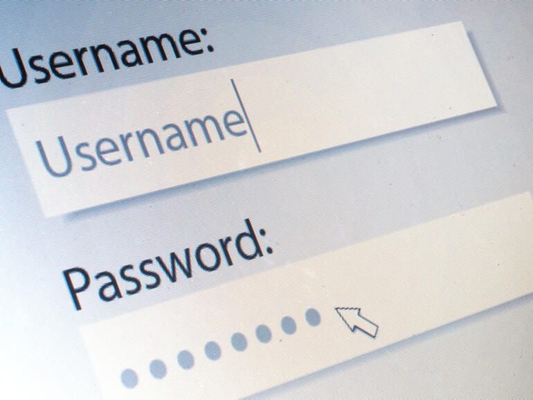 Set up a password and username