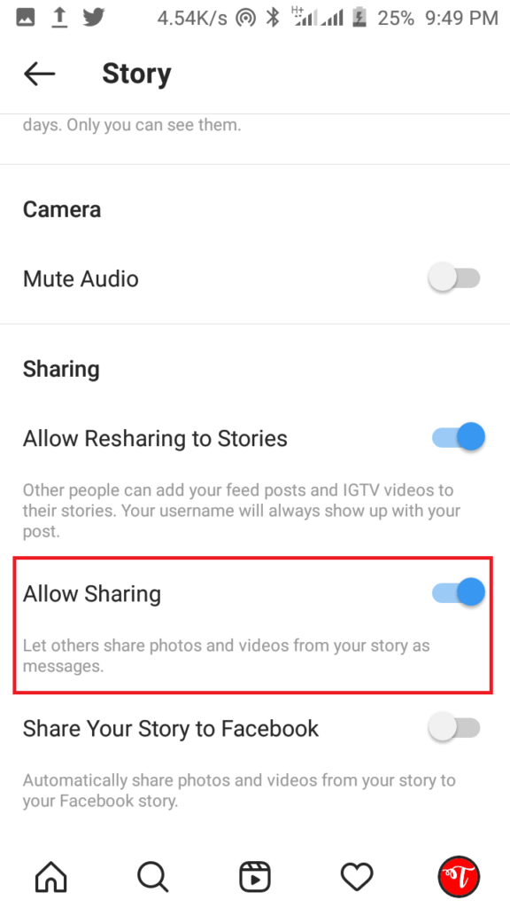 How to Prevent your Followers from Sharing your Stories Via Direct Messages
