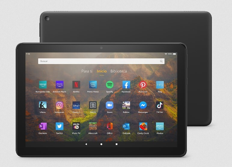 Amazon Fire HD 10 and Fire HD 10 Plus