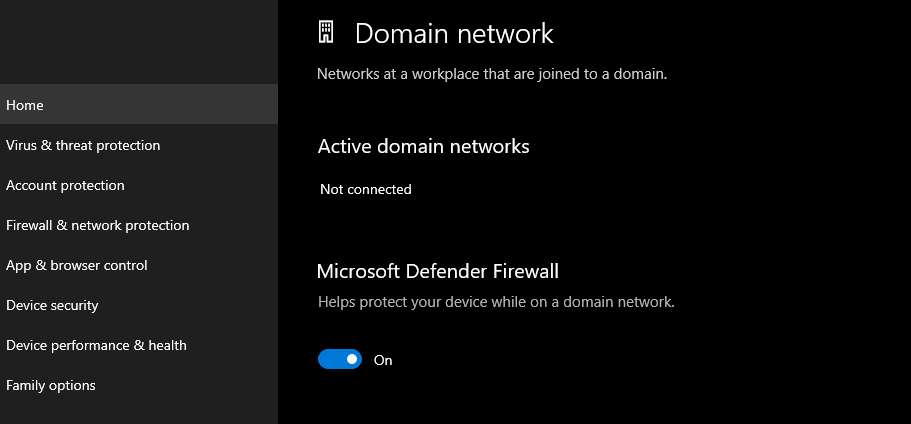 Disable firewall and antivirus temporarily