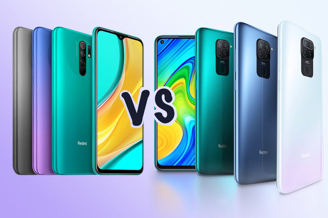 Redmi 9 vs Redmi Note 9