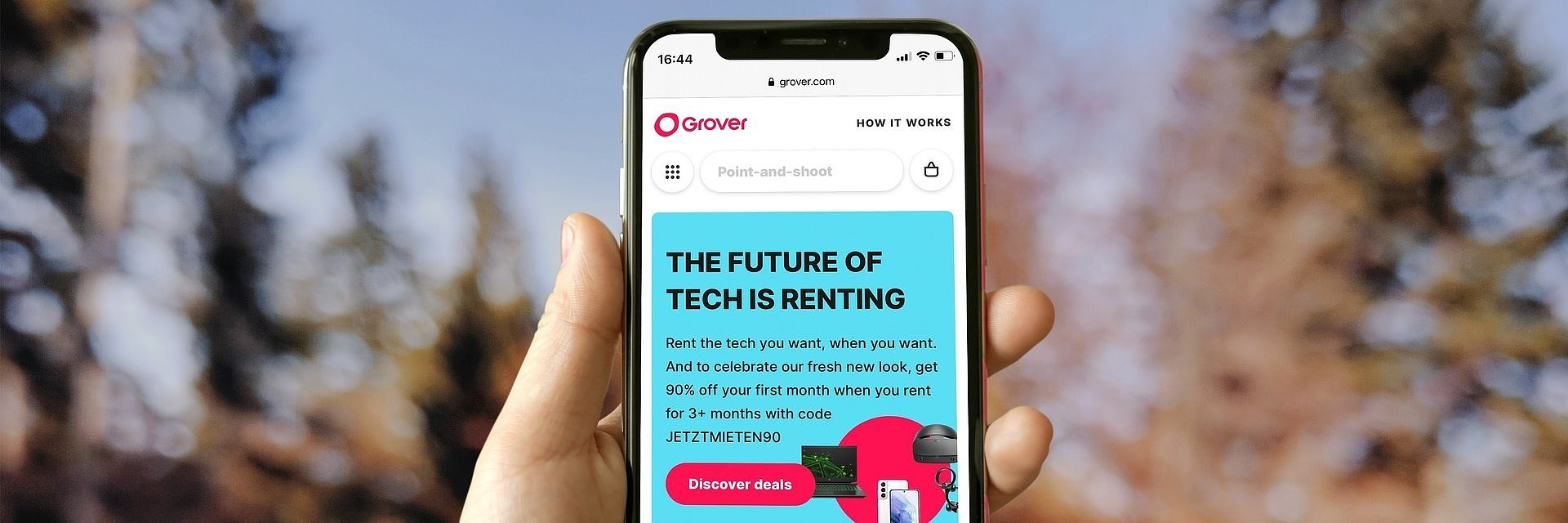 Grover: How This Website For Renting Technology Gadgets Works - Techidence